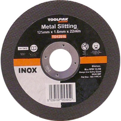 Stainless Steel Cutting Discs
