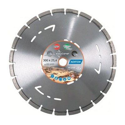 Norton Clipper 4x4 Explorer Diamond Blade 300mm Multi