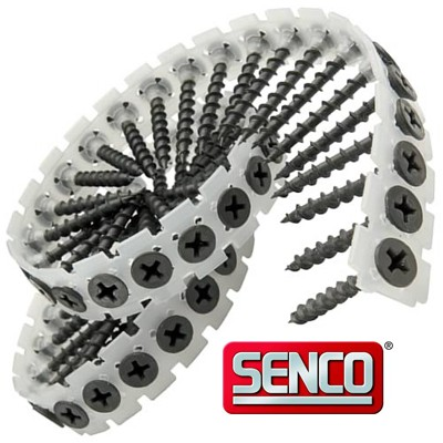 SENCO Collated Drywall Screws - FINE BLACK