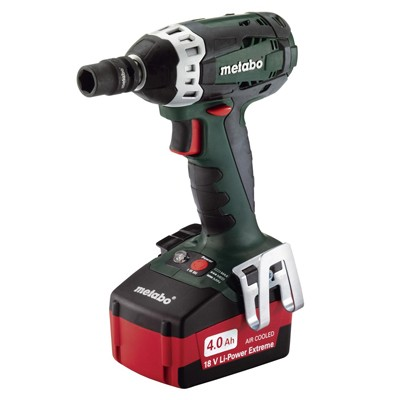 Metabo SSW18LT 18V Cordless Impact Wrench (2 x 5.2Ah PowerExtreme Batts)
