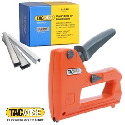 Staplers - Cable Tackers - Staples