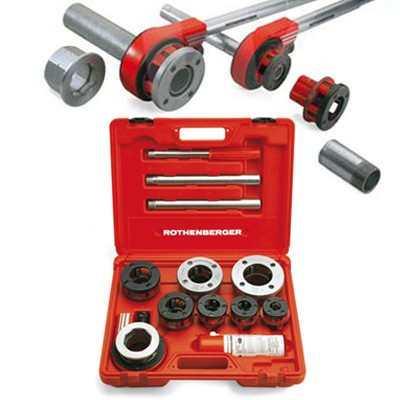 Plumbing Tools Rothenberger Super Cut Hand Ratchet Pipe Threader