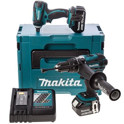 makita dlx2005mj ltd edition 18v li ion cordless twin pack in makstac box 2 x batts. Black Bedroom Furniture Sets. Home Design Ideas