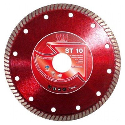 Red 10 St Super Thin Tile Blades