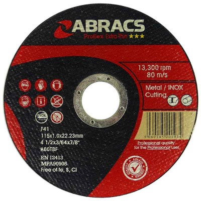 Ultra Thin Metal Cutting Discs