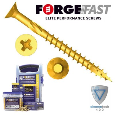 Forgefast Pozi Elite Screws