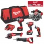 Milwaukee M18 CPP6A FUEL 18V Powerpack 6 Piece Kit - 2 x 4.0ah Batts