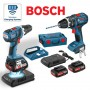 BOSCH GSB18VLIW WIRELESS CHARGING COMBI - 18V