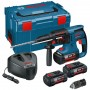 Bosch GBH36VFLI3 36V Cordless li-ion SDS Plus Rotary Hammer Drill (3 x 4Ah Batteries) with Quick Change Chuck