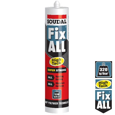 Hybrid Polymer All-in-1 Sealants & Adhesives (Stixall, Fixall, CT1 etc)