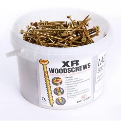 Concept XR Premium Gold Screws